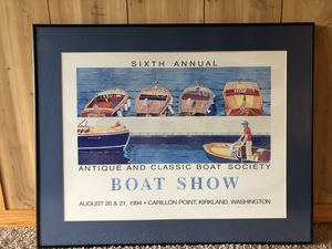 Picture - 'Boat Show' for Sale in Bellevue, WA