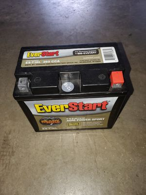 Ever start lawn mower battery for Sale in Colorado Springs, CO