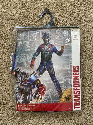 Transformers OPTIMUS PRIME Costume youth/kidssize S/P (4-6) for Sale in Chula Vista, CA