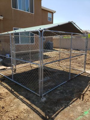 Stephens Pipe & Steel Dog Kennel for Sale in Clovis, CA