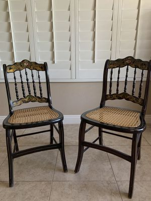 Antique Chairs - set of 2 for Sale in Henderson, NV