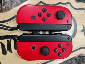 Mario Odyssey Red Nintendo Switch Joycons with straps for Sale in Glendora, CA