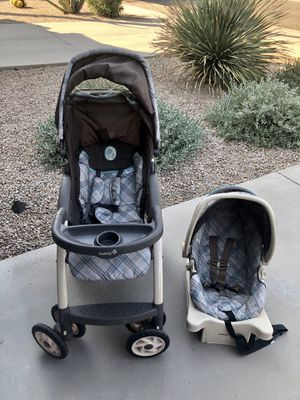 Stroller, Car Seat AND Base for Sale in Phoenix, AZ