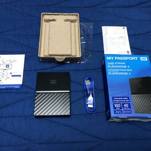 My Passport 4 Tb For PlayStation. for Sale in Hialeah, FL