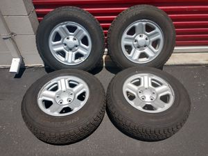 Jeep Wheels OEM 225/75/16 Cooper 5x5 for Sale in Ontario, CA