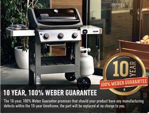 Weber spirit e-310 black propane bbq grill brand new in box for Sale in Phoenix, AZ