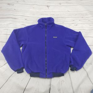 Patagonia Jacket Size 13 /14 Womens Zip Up Fleece Sweater Style 25019 Cut 3913 Vintage for Sale in Los Angeles, CA