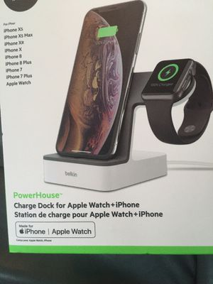 PowerHouse™ 2-in-1 iPhone & Apple Watch Charging Dock for Sale in Escondido, CA