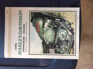 Harley Davidson service manual. for Sale in Summersville, WV
