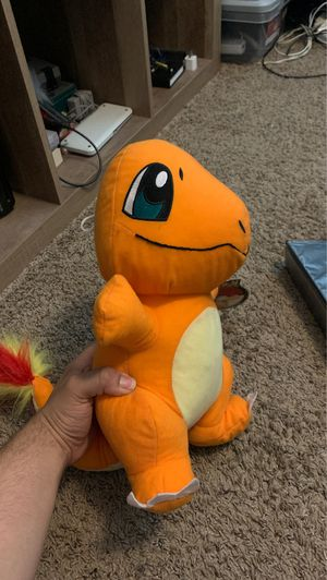 Plushy charmander for Sale in Upland, CA