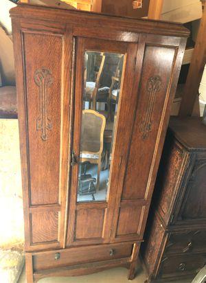 Antique wardrobe armoire for Sale in La Verne, CA