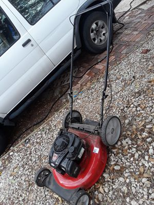 Yard machines push mower for Sale in Dallas, TX
