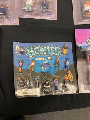Vintage homies toys brand new collectibles for Sale in Huntington Park, CA