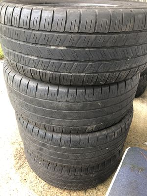 """Set of four matching truck tires 20"""" for Sale in Petersburg, VA"""