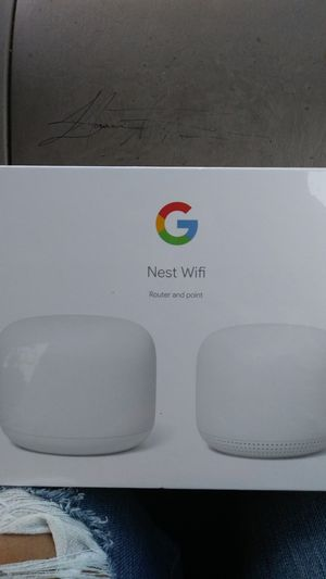 Nest Wifi Router and point for Sale in Washington, DC