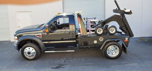 Ford F450 diesel tow truck wrecker 80k miles clean title for Sale in Oceanside, CA