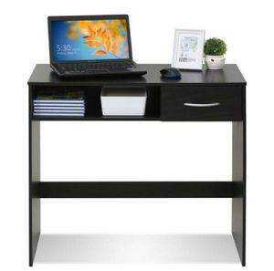 New Espresso Desk with Drawer & Storage- In Box for Sale in Beaumont, CA