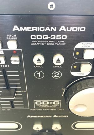 American audio cdg-350 pro dual CD player for Sale in Las Vegas, NV
