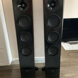 Set Of 3 Speaker Subwoofer And Surround Receiver for Sale in San Diego, CA