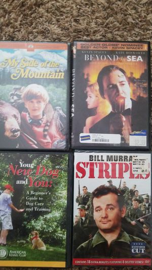 4 Movies (2 still sealed) for Sale in Fort Smith, AR
