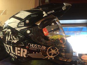 New dual sport adventure off road dirt bike dot motorcycle helmet $140 for Sale in Santa Fe Springs, CA