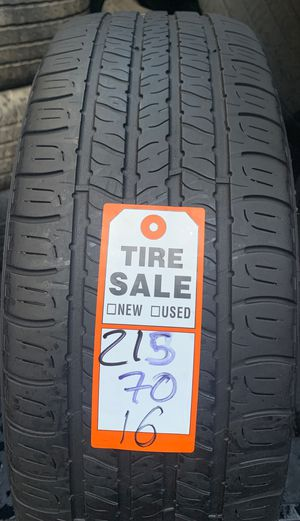 Tires 215/70/16 good year for Sale in Opa-locka, FL