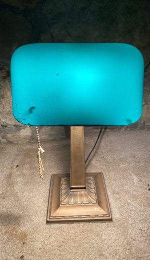Antique Emeralite Desk Lamp for Sale in Washington, PA