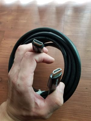 12foot HDMI CABLE W/ETHERNET RADIO SHACK BRAND for Sale in Salt Lake City, UT