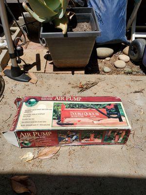 Double quick air pump mattresses for Sale in Escondido, CA