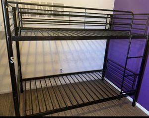 bunk bed in very good condition only has a very clean mattress for Sale in Phoenix, AZ