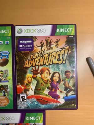 Xbox 360 kinect games bundle for Sale in MIAMI, FL