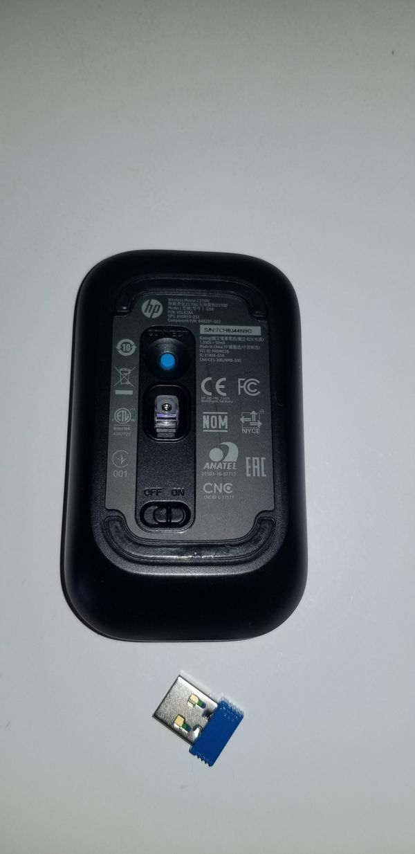 HP Wireless Mouse Z3700 like new.....