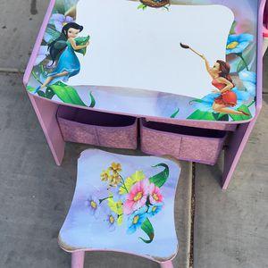 Tinker bell And Fairies Art Desk for Sale in Buckeye, AZ