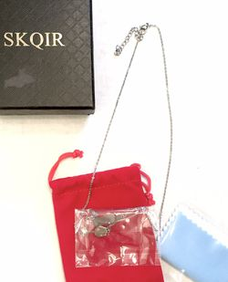 New Skqir Wine Bottle and Glass Necklace for Sale in Redmond,  WA