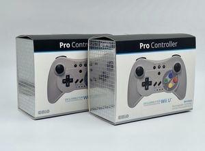 2Pack of EMIO Wireless Controller Pro U Gamepad for Nintendo Wii U for Sale in Santa Ana, CA