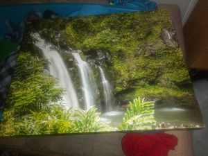 Waterfall canvas for Sale in Vancouver, WA