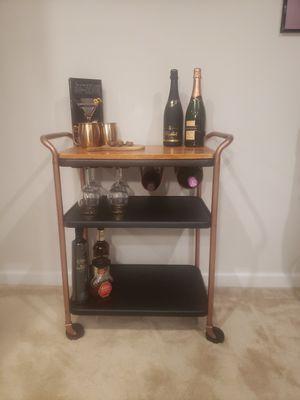 3 tier bar cart for Sale in Alexandria, VA