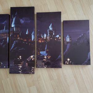 Hogwarts 5 Canvas Set for Sale in Jupiter, FL