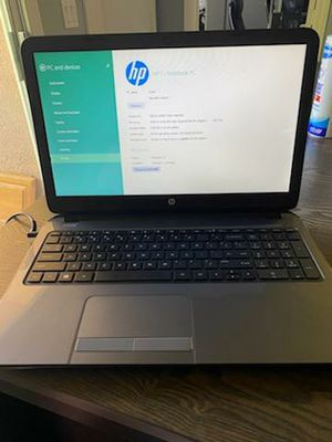 HP 15 Notebook laptop for Sale in Henderson, NV