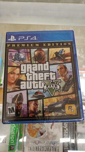 Grand theft v ps4 brand new for Sale in TEMPLE TERR, FL