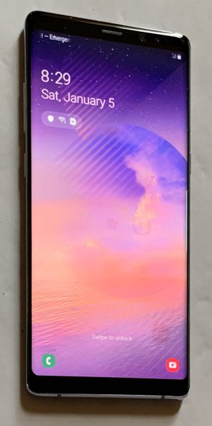 BLUE SAMSUNG GALAXY NOTE 8 - UNLOCKED FOR ANY CARRIER for Sale in Memphis, TN