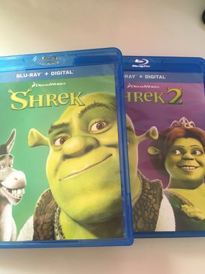 Shrek & Shrek 2 Bundle for Sale in Norco, CA