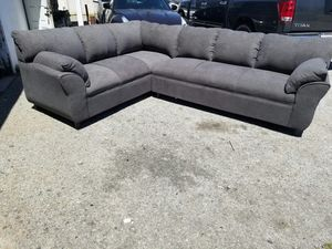 NEW 7X9FT ANNAPOLIS GRANNITE FABRIC SECTIONAL COUCHES for Sale in Ontario, CA