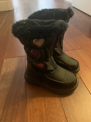 Girls totes rain boots size 6c for Sale in Hayward, CA