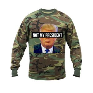 Camo Not My President T-shirt for Sale in Bensalem, PA