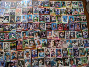 Baseball Cards, assorted,Tops, Fleer, Don Russ for Sale in Fresno, CA