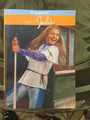 American girl doll book (julie) for Sale in Framingham, MA