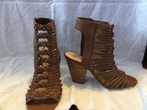 Brown block heel sandals for Sale in Snellville, GA