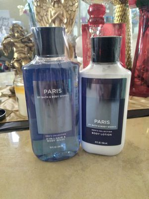Paris Men Collection Bath n body work for Sale in Las Vegas, NV