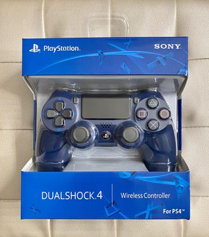 Midnight Blue DualShock 4 PS4 Controller for Sale in Corona, CA